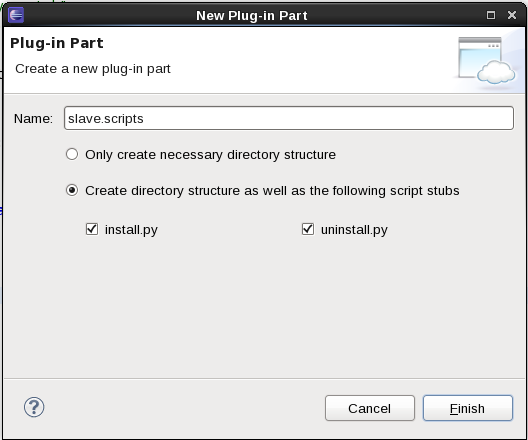 SCAWS CreatePluginPartSlave