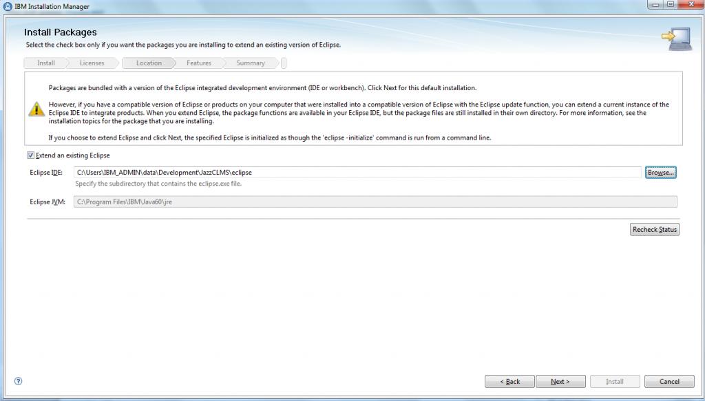 Ibm websphere application server v 85 installation on windows (websphere jungle)