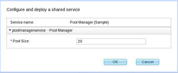 SCAWS SS PoolManager Parameters