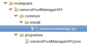 SCAWS SS PoolManager servicesampleapi