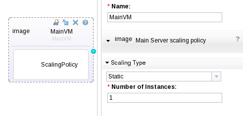 SCAWS 2VM Pattern with scaling